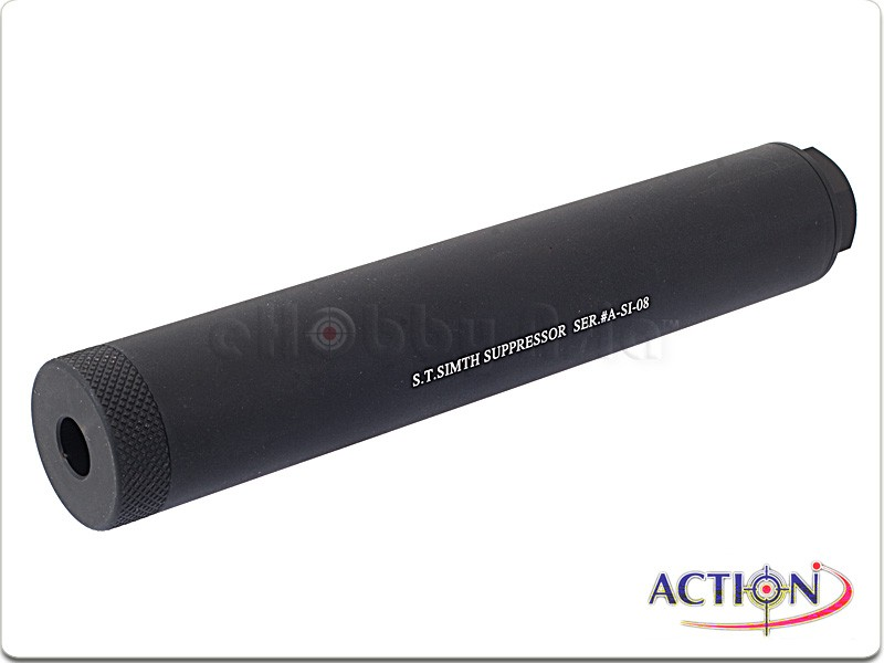 ACTION 180mm S.T. Simth Suppressor Silencer (CCW)