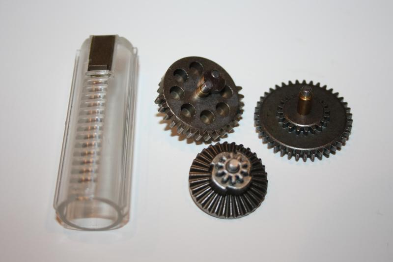 Army Force Steel Gearset w/ Piston (Regular Ratio)