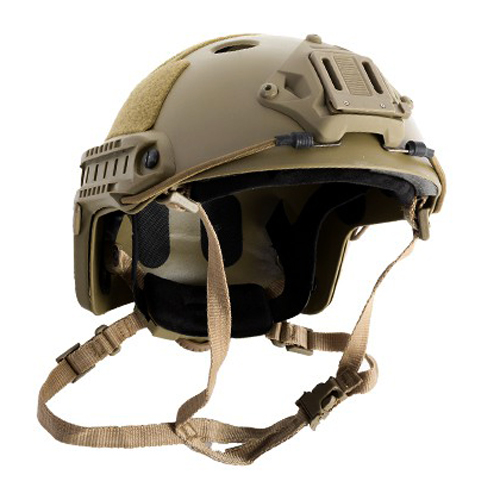 AMP Core BJ Helmet Tan