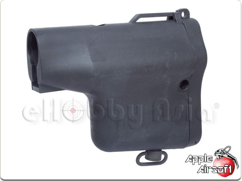 Apple Airsoft M4 Tactical Stubby Stock (Black)
