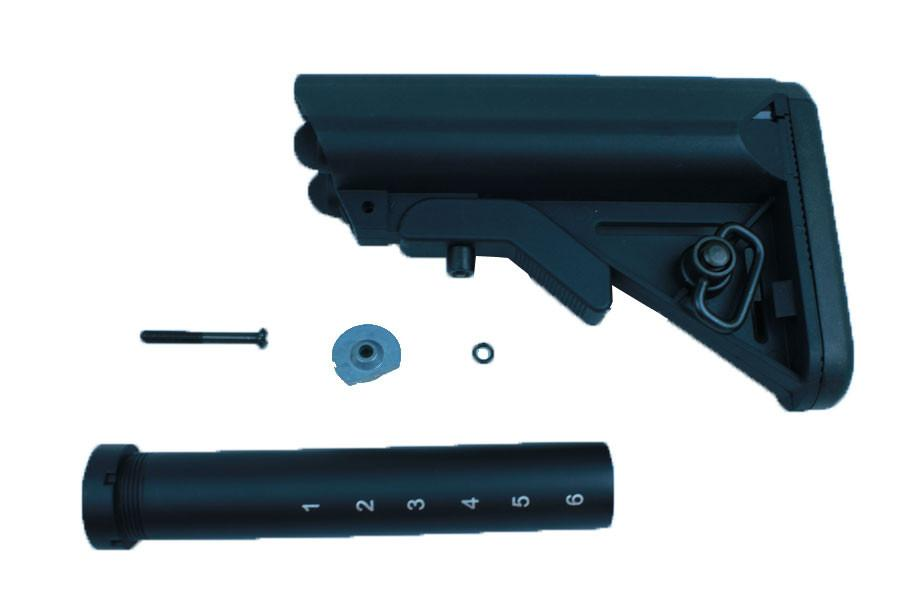 APS ASR Crame Stock with Stock Pipe (Black)