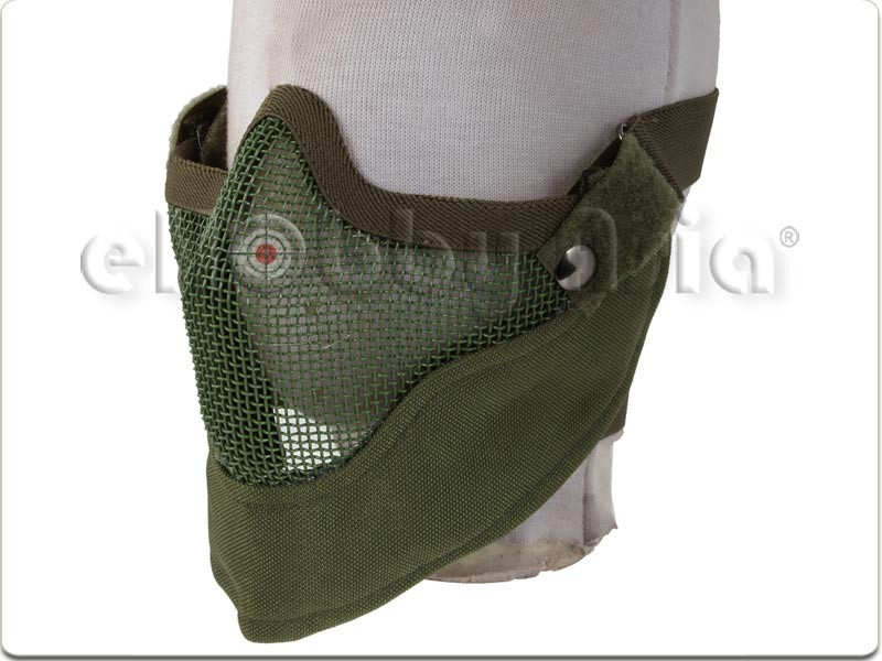 Army Force Steel Mesh Mask (OD)
