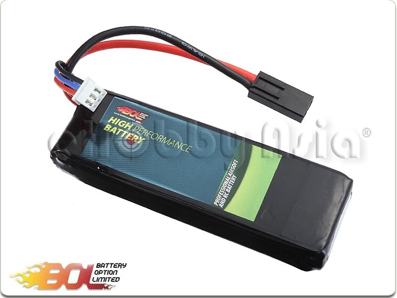 BOL 7.4V 2400mAh 20C Lipo Battery (Candy Bar Pack)