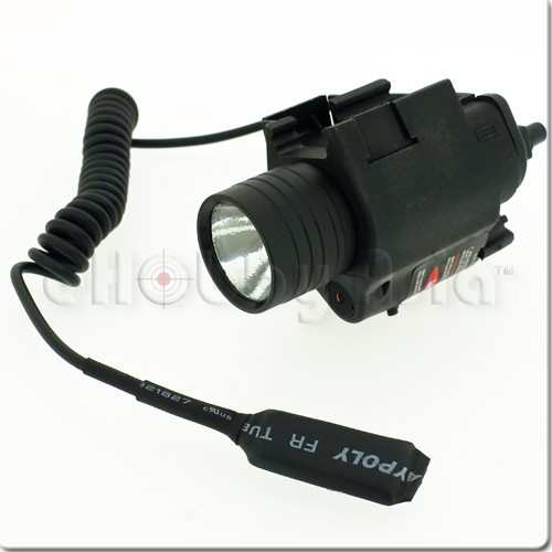 EA QD M6 Flash Light & Laser (Black)