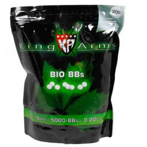 King Arms 0.20g Bio BB 1kg bag (5000rd)