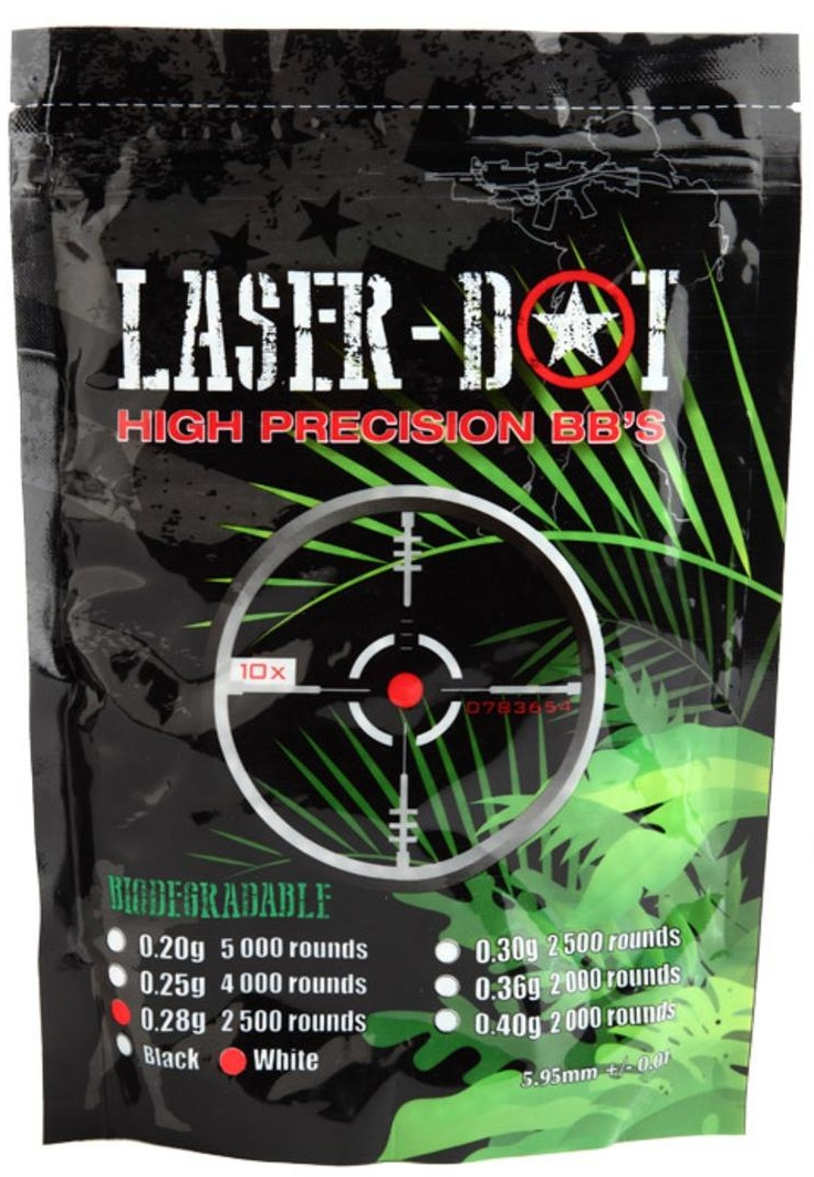 Laser Dot 0.20g Bio BB 1kg bag (5000rd)