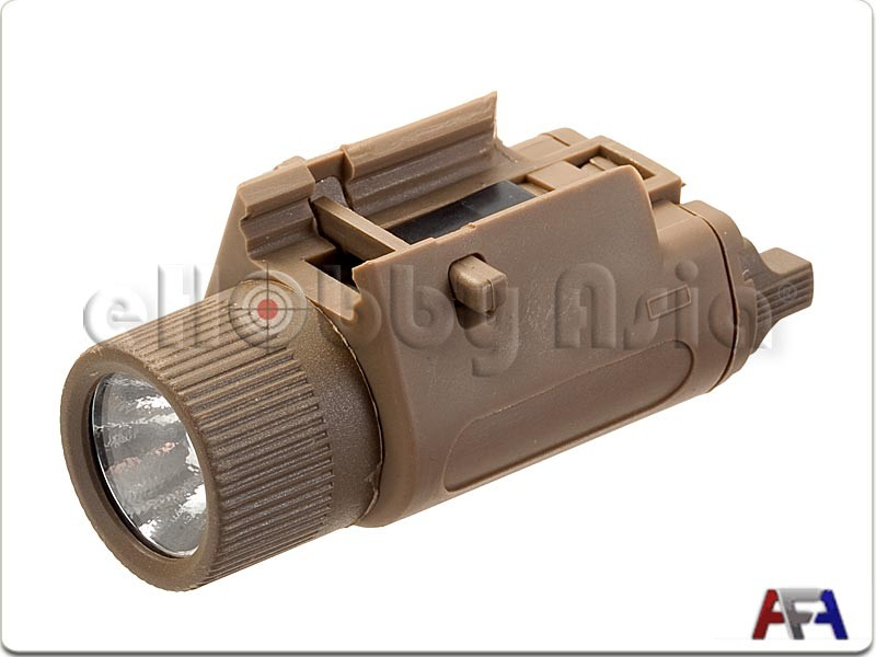 Army Force M3 Replica Weapon Light (LED, Dark Earth)