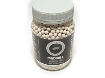 Madbull 0.36g Sniper BBs 2000rd (Cream color)
