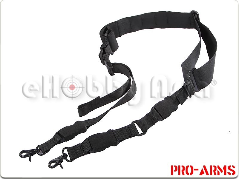 ProArms 2-Point/3-Point Sling with Bungee (Black)
