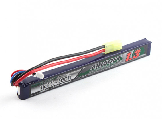 Turnigy Nanotech 7.4v 1300mah 25-50c AK Stick (Mini)