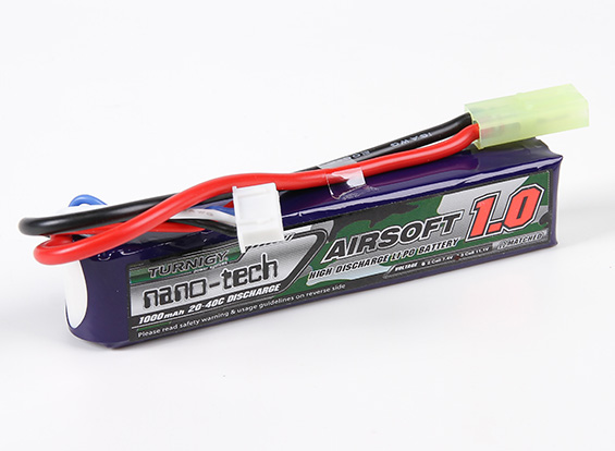 Turnigy Nanotech 11.1v 1000mah 20-40C Stick (Mini)